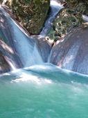 Vodopádu erawan — Stock fotografie