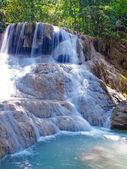 Erawan waterfall — Stock Photo