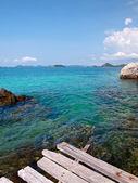Deniz kenarındaki güzel — Stok fotoğraf