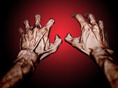 Sear hands — Stock Photo