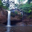 Haew Suwat Waterfall — Stock Photo