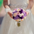 The bride with a bouquet — Stock Photo #11782930
