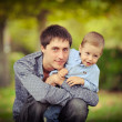 The father and the son — Stock Photo #12044263