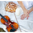 Nature and music — Stock Photo