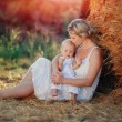 Family in nature - Stockfoto