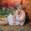 Familie in der Natur — Stockfoto