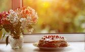 Appetizing sweet dessert — Stock Photo