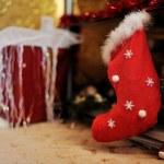 Christmas sock — Stock Photo #13946714