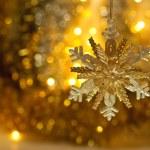 Christmas abstraction — Stock Photo
