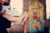 Stopy dziecka — Zdjęcie stockowe
