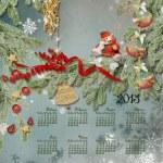 Calendar for 2013 — Stock Photo #18692049
