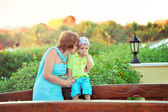 A mother's love — Stock Photo