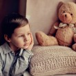 Children's grief — Stock Photo #19813853