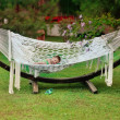 Stock Photo: Hammock and