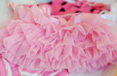 Pink ruffles — Stock Photo