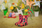 Miracle boots — Stock Photo