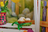 Easter composition — Stock Photo
