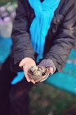 Iyi ellerde — Stok fotoğraf