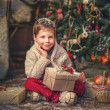 Stock Photo: New Year's gifts