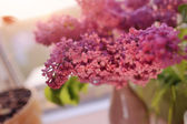 Purple bouquet — Stockfoto