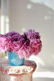 Bouquet of peonies — Stock Photo