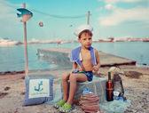 Garçon de marin — Photo