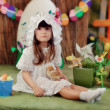 Girl in a fairy tale — Stock Photo #28640731