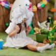 Girl in a fairy tale — Stock Photo #28640727
