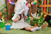 Garota em um conto de fadas — Fotografia Stock