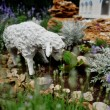 Sheep sculpture — Stock Photo