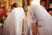 教堂婚礼 — 图库照片
