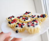Berry dessert — Stock Photo
