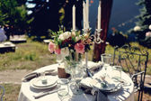Ziyafet masa — Stok fotoğraf