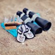 Marine binoculars — Stock Photo