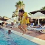 Fun in water — Stock Photo #35074827