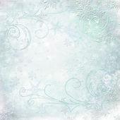 Collage of snowflakes — Stock Photo
