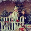 Children and Christmas story — Stock Photo #36565735