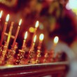 Church candles — Stok fotoğraf