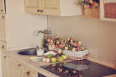 Still life in the kitchen — Stock Photo