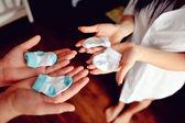 детские носки — Стоковое фото