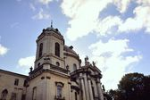 Dominican cathedral — Stock Photo