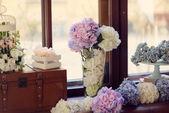 Morta di fiori — Foto Stock