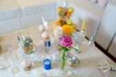 Holiday tea party — Stock Photo