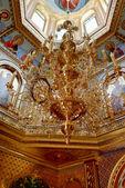 Church chandelier — Stock Photo