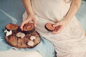 Maternità e tenerezza — Foto Stock