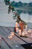 Picnic romantico — Foto Stock
