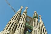 Katedral sagrada familia — Stok fotoğraf