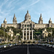Palace of Montjuic - Foto de Stock