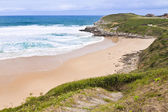 Playa de los locos, Suances (Spain) — Stock Photo