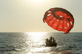 Start parasailing — Stock Photo